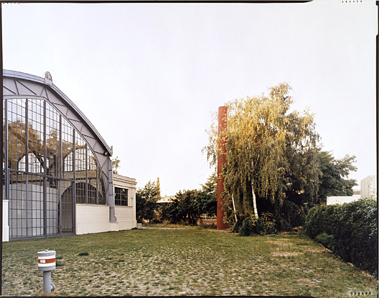 Jan Svenungsson. Berlin Chimney Project - Berlin North - Hamburger Bahnhof Museum 2004